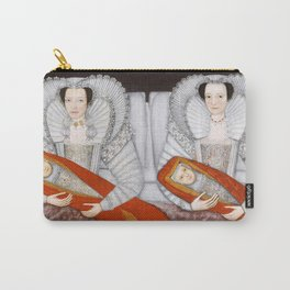 The Cholmondeley Ladies - Twin Art Carry-All Pouch