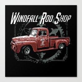 Windfall Rod Shop Canvas Print