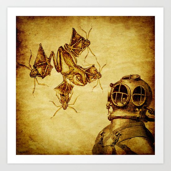 quatic species Art Print