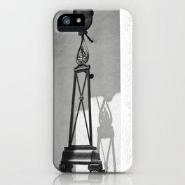 B&W style light - downtown Philadelphia iPhone Case