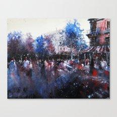 Paris painting Canvas Print