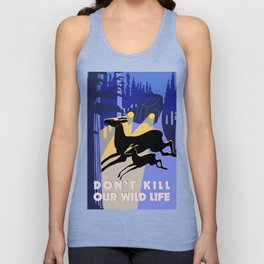 Don't kill our wild life Unisex Tank Top
