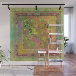 Leaf Scatters 2 Wall Mural
