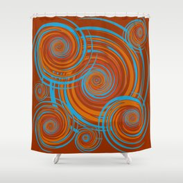 Autumnal 7 Shower Curtain