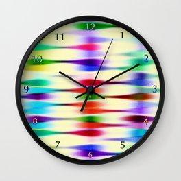 Platform 22,  The Jelly Bean Express Wall Clock