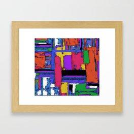 The big room Framed Art Print