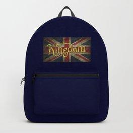 Kingdom - Union Jack British Flag Backpack