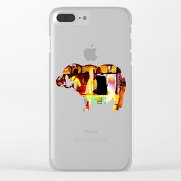 Pike Place Seafood Clear iPhone Case