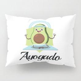 Ayogado | Yoga Avocado Pillow Sham