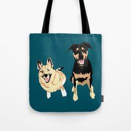 Drogo and Bowser Tote Bag