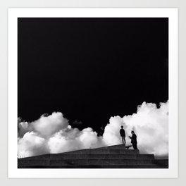 Cloudy Copenhagen Art Print