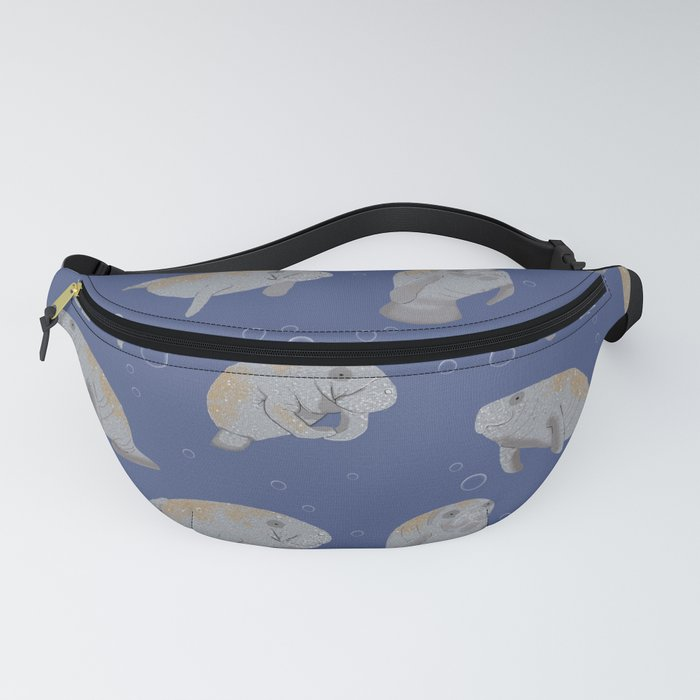Manatees and Bubbles Fanny Pack