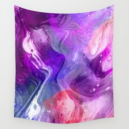 Ultraviolet Pleasure Wall Tapestry