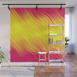 Stripes Wave Pattern 10 py Wall Mural