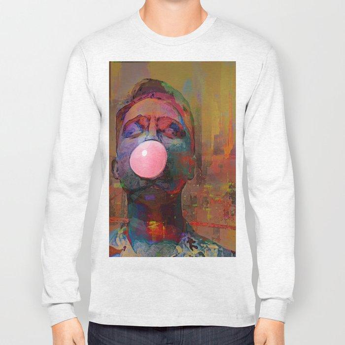 bubble gum  boy Long Sleeve T-shirt