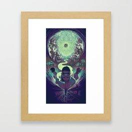 Neuromancer : Case Framed Art Print