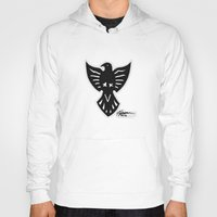 sparrow Hoodies featuring Sparrow by Daniel Pearson