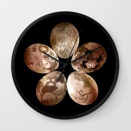 Circle Easter Wall Clock