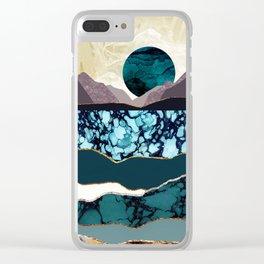 Desert Lake Clear iPhone Case