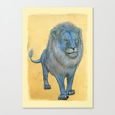 The Wise Lion Canvas Print