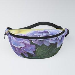 Purple hydrangea(1) Fanny Pack
