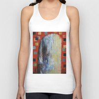 moby Tank Tops featuring Moby Dick by Michael Creese