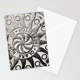 Manhole Cover 4 Stationery Cards