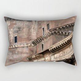 Pantheon of Rome Side View Rectangular Pillow