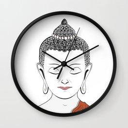 Life of Buddha Wall Clock