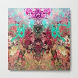 Floral Guidance Metal Print