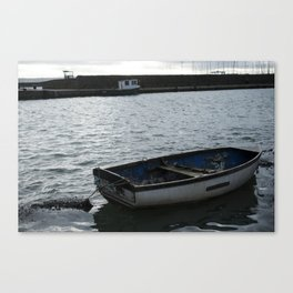 carrickfergus Boat Canvas Print