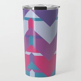 Cool Waves #society6 #violet #pattern Travel Mug