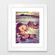 Stopping by the Shore at Uke Framed Art Print