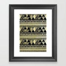 Ethnic Chic Framed Art Print