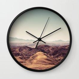 Moon Landscape Namibia Wall Clock