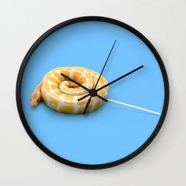 Candy Snake Wall Clock