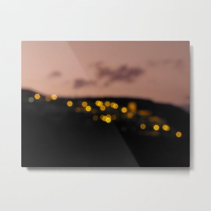 Ultimas luces Metal Print