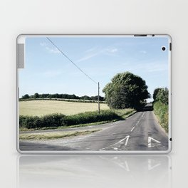 junction in the countryside Laptop & iPad Skin