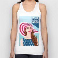 the national Tank Tops featuring National Anthem by Stan Pro