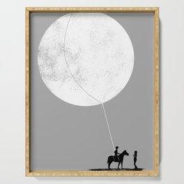 do you want the moon? Serving Tray