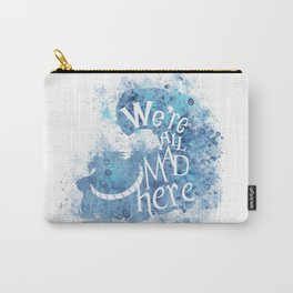 We're All Made Here - blue Carry-All Pouch