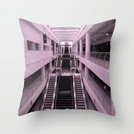 Esclator Throw Pillow