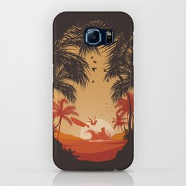 Summertime Madness iPhone Case