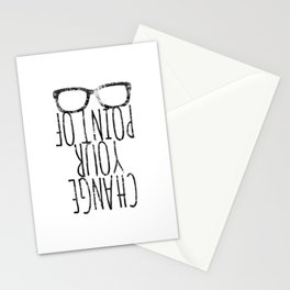 Point of view Stationery Cards