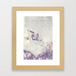 Explorers IV Framed Art Print