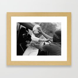 Kidnapping Framed Art Print