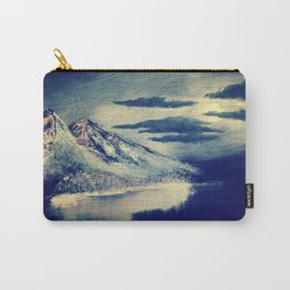 Moon Light Over The Mountain Carry-All Pouch