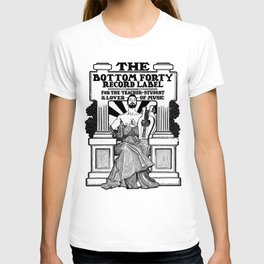 The Bottom Forty Record Label T-shirt