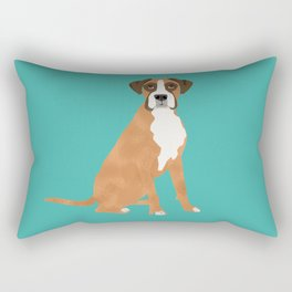 Boxer dog breed gifts for pure breed boxer dog lovers Rectangular Pillow