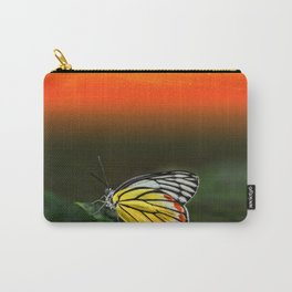 Butterfly Staring at Sunset Carry-All Pouch